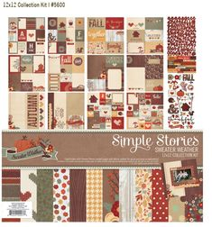 Simple Stories Sweater Weather  Simple Stories came out with a new Fall collection - Sweater Weather! LOVE it! Can't wait to get my paws on it for all of my fun Fall pocket scrapbooking pages!! :)