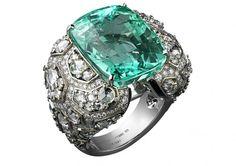 Cartier Anello con smeraldo 22 carati