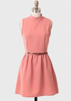 Carly Belted Dress