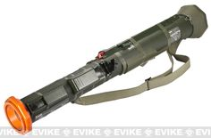 Deepfire Airsoft AT-4 Rocket Launcher with Internal Cylinder Tube, Airsoft Guns, Grenade Launchers - Evike.com Airsoft Superstore