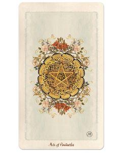 Ace of Pentacles / Pagan Otherworlds Tarot