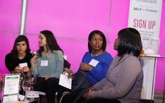 """Mary Murcko, publisher and chief revenue officer at SELF, kicked off the discussion by saying, """"You all have big goals you want to achieve. This conversation is about helping you 'determined doers' to get there."""""""
