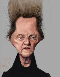 Christopher Walken, by grandpa, on wittygraphy