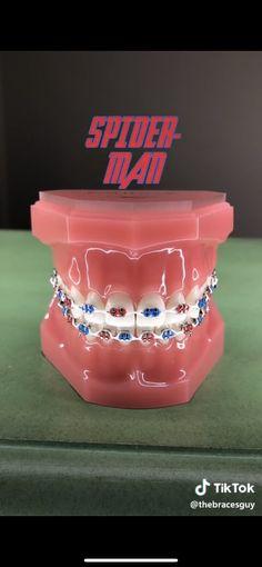 Braces Rubber Bands, Braces Bands, Braces Tips, Dental Braces, Teeth Braces, Dental Care, Cute Braces Colors, Getting Braces, Brace Face