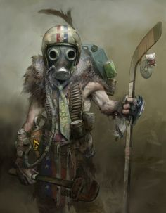 wasterland   #Gaming #Gasmask #Apocalyptic