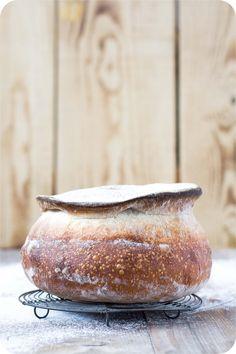 Ein Pain Auvergnat - eine entzückende Form aus der französischen Bäckerei.