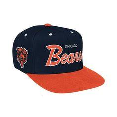 a7c1f182947 Chicago Bears Script Snap Back Chicago Bears Gear
