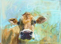 Jersey cow 2 by James Bartholomew