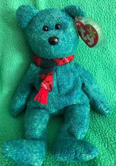 19a9bdcef32 TY Beanie Baby WALLACE The Scottish Bear MWMT 1999 8 W  Canadian Tush Tag  Beanie
