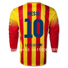 3cc0c2b69 Top a + + + best Thai quality 13 14 season messi jersey football yellow ·  Lionel Messi BarcelonaBarcelona ...
