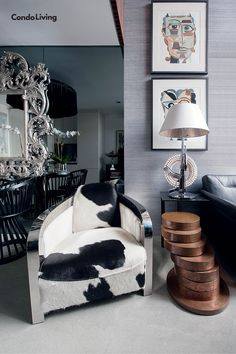 Chat Fores' Loft Condo Is An Eclectic Art Collector's Dream - CondoLiving Best Interior, Home And Living, Condo, Loft, Diy Projects, House, Furniture, Design, Home Decor