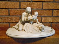 Antique Bisque Statue of  a Victorian by WidhalmsCollectibles, $47.00