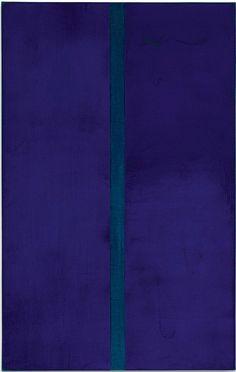 Barnett Newman, 1952. Newman fue un pintor estadounidense al que se relaciona con el expresionismo abstracto y un destacado exponente de la pintura de campos de color