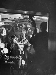 Jazz Orchestra in Harlem Club Reproduction photographique sur papier de qualité par Hansel Mieth sur AllPosters.fr
