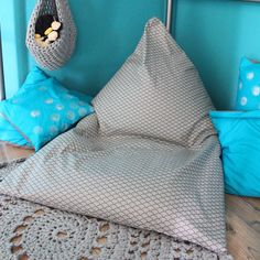 de Sitzkissen naehen Leseecke The Effective Pictures We Offer You About nahen A quality pi - Floor Cushions, Seat Cushions, Baby Pillows, Throw Pillows, Big Living Rooms, Family Room Decorating, 1st Birthday Girls, Plexus Products, Girl Room