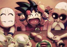 Dragon Ball | Goku | Krilin
