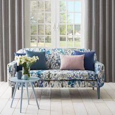 Warwick Fabrics: a decorator's guide to fabrics Floral Couch, Warwick Fabrics, Interior Decorating, Interior Design, Decorating Ideas, Mid Century Furniture, Furniture Inspiration, Sofa Design, Soft Furnishings