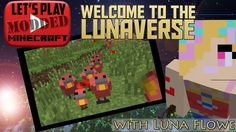 Let's Play Modded Minecraft! Welcome to my Lunaverse! Dr Zhark's Mo' Creatures mod adds 40 or more new creatures to your Minecraft world. Minecraft Mods, Lets Play, Welcome, Creatures, Let It Be, Baseball Cards, Fun, Hilarious