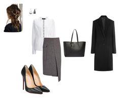 """""""Work"""" by cgraham1 on Polyvore featuring Paul Frank, Christian Louboutin, Joseph and Yves Saint Laurent"""