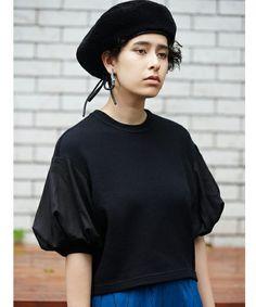 PAMEO POSE(パメオポーズ)のSLEEPY TOP(Tシャツ/カットソー)|ブラック