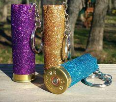 Shotgun shell keychains