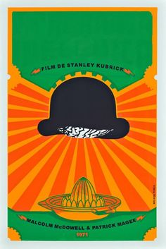 "CUban movie poster for ""A Clockwork Orange"""