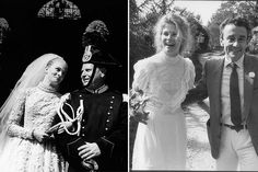 Candice Bergen in The Adventurers (1968); with husband Louis Malle, 1980