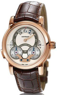 Montblanc Nicolas Rieussec Rising Hours watch