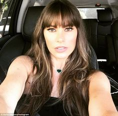 Fringe benefit: Sofia Vergara's new haircut took years off as she turned 45 on Monday...