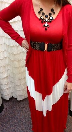 Chevron Tank dress, $38.99