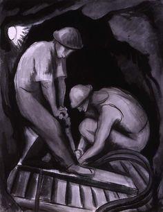 Diego Rivera -   Miners in Guerrero