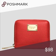 Sale!Michael Kors Small Zip Around Wallet. Sale!! Perfect for small cross-body purses. Slightly used MICHAEL Michael Kors Bags Wallets