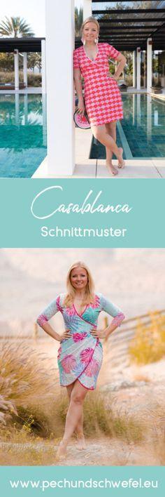 Schnittmuster Kleid Casablanca von Pech&Schwefel