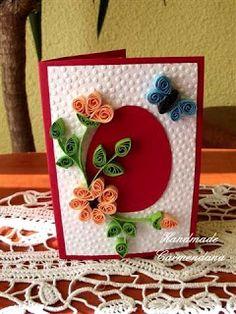 Felicitare pentru Pasti (handmade card)