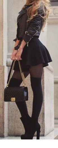falloutfit ideen / alles schwarz alles casual night out outfits - Casual Outfit Source by florandunke fashion night out casual Black Women Fashion, Look Fashion, Trendy Fashion, Winter Fashion, Fashion Outfits, Womens Fashion, Fashion Ideas, Fashion Clothes, Fashion Styles