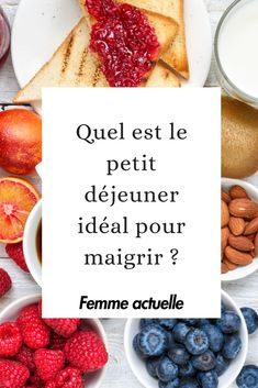 What should you eat in the morning to lose Que faut-il manger le matin pour maigrir ? Stop the blabla: concretely, when you are on a diet, what should you eat in the morning to lose weight? Healthy Breakfast Recipes, Healthy Drinks, Healthy Recipes, Healthy Food, Drink Recipes, Nutrition Drinks, Fitness Nutrition, Healthy Life, Healthy Living