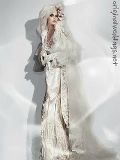 Bride gown by John Galliano