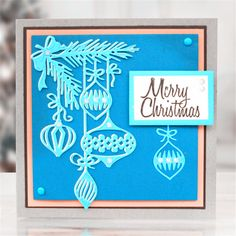 1PC DIY Christmas Baubles Die Cuts Metal Cutting Dies Scrapbooking Photo Album Cards Making Embossing Folder //Price: $9.95 & FREE Shipping //     #crafts #sewing