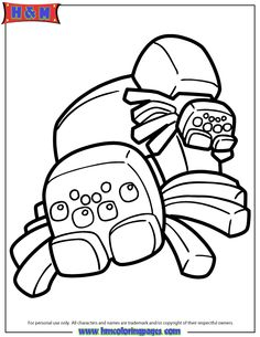 Ender Dragon Cartoon Coloring Page | accessories | Pinterest ...