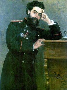 Portrait of I.R. Tarhanov, 1892  Ilya Repin