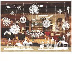 White Snowflake Merry Christmas Tree Vinyl Wall sticker Decals Window Decor New 4 Christmas Tree Vinyl, Christmas Time, Christmas Crafts, Merry Christmas, Christmas Decorations, Christmas Ornaments, Holiday Decor, Doodle Wall, Decoration Vitrine