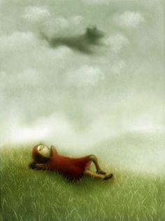 Interesting Little Red Riding Hood artwork by Stefano Morri