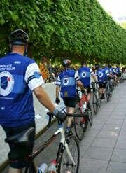 Police Unity Tour 2009, walking to memorial after 3 day bike ride :)