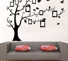 Cheap Decals Stripes, Buy Quality Frame Desktop Directly From China Frame Wall  Decal Suppliers: Family Tree Wall Decal Remove Wall Stick Photo Tree Wall  ... Part 57
