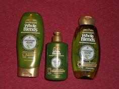 Garnier Hair Care Whole Blends Entire System Shampoo Conditioner & Leave In Con #GarnierHaircare