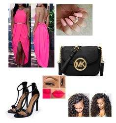 """""""Untitled #112"""" by vpiota ❤ liked on Polyvore featuring Boohoo and MICHAEL Michael Kors"""