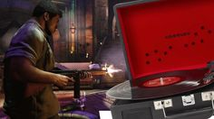 There's a Limited Edition Mafia 3 Record Player - Up At Noon Live