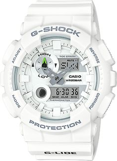online shopping for Casio G-Shock G-Lide Series Watches - White / One Size from top store. See new offer for Casio G-Shock G-Lide Series Watches - White / One Size Casio G Shock Watches, Sport Watches, Cool Watches, Watches For Men, Men's Watches, Analog Watches, Popular Watches, Luxury Watches, Fashion Watches