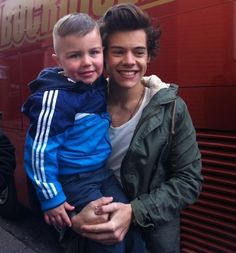 harry styles with kid fans - Google Search