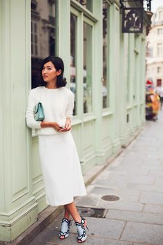 If there's one rule that was made to be broken, it's the forbidden fashioning of white after Labor Day. From Fashion Week to magazines and blogs, it seems with each passing year more fashionistas t...